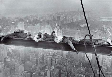 siesta en el rascacielos